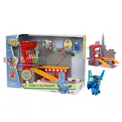 "SUPER WINGS PLAYSET PACK & GO""AVVENTURA A NEW YORK""C/1 PERSONAGGIO"