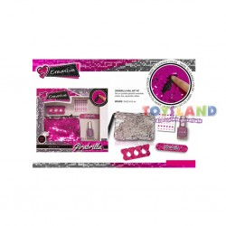 GIRABRILLA NAIL ART KIT - COLORI ASSORTITI (02501)