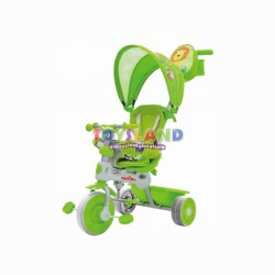 TRICICLO 3 IN 1 CAPOTE HAPPY VERDE (9032013)