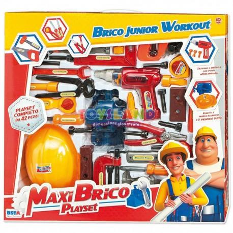 MAXI BRICO 42 PEZZI TRAPANO A BATTERIA (9547)