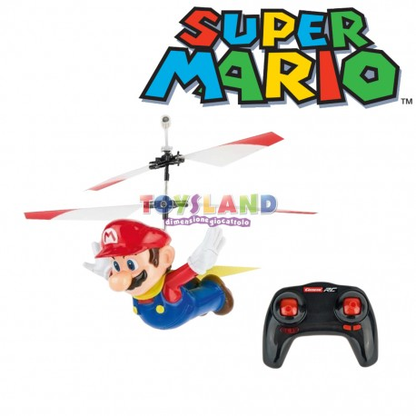 Super Mario Fluing Cape Elicottero Drone Radiocomando (370501032)