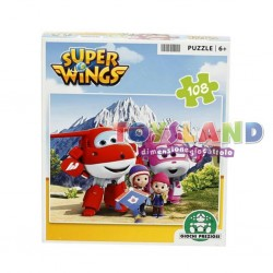 SUPER WINGS PUZZLE 108 PEZZI ASS.2