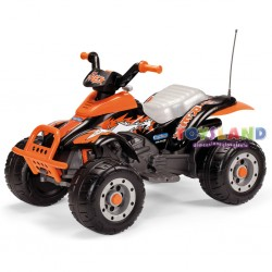QUAD CORRAL 12V T-REX NERO-ARANCIONE (OR0066)
