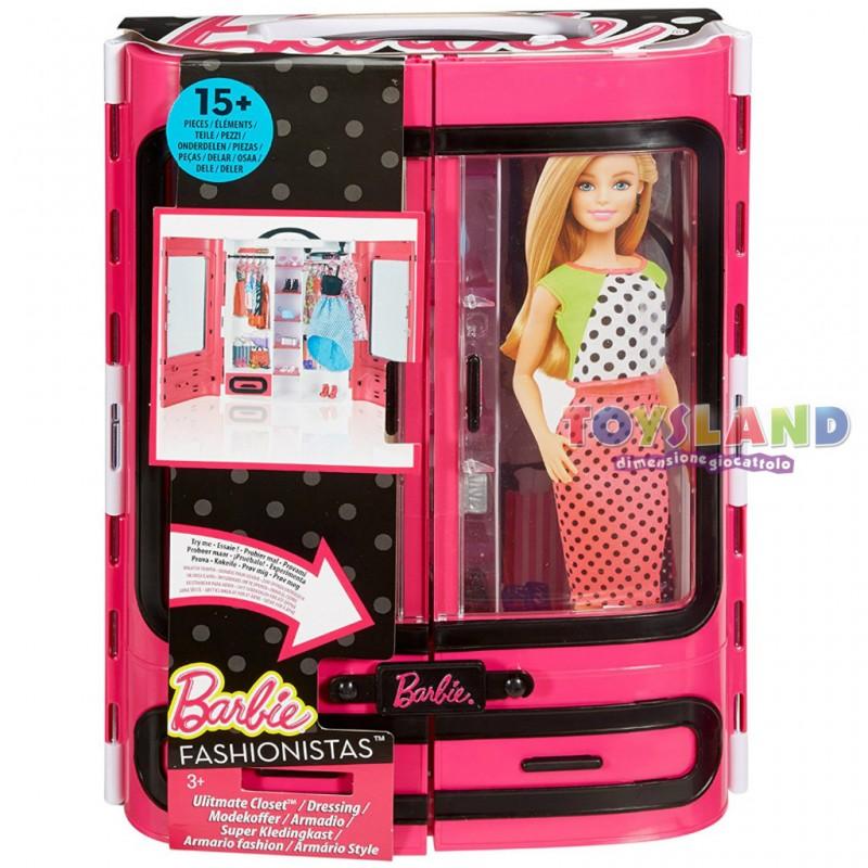Guardaroba Di Barbie.Barbie Armadio Della Moda Che Potrai Portare Sempre Con Te