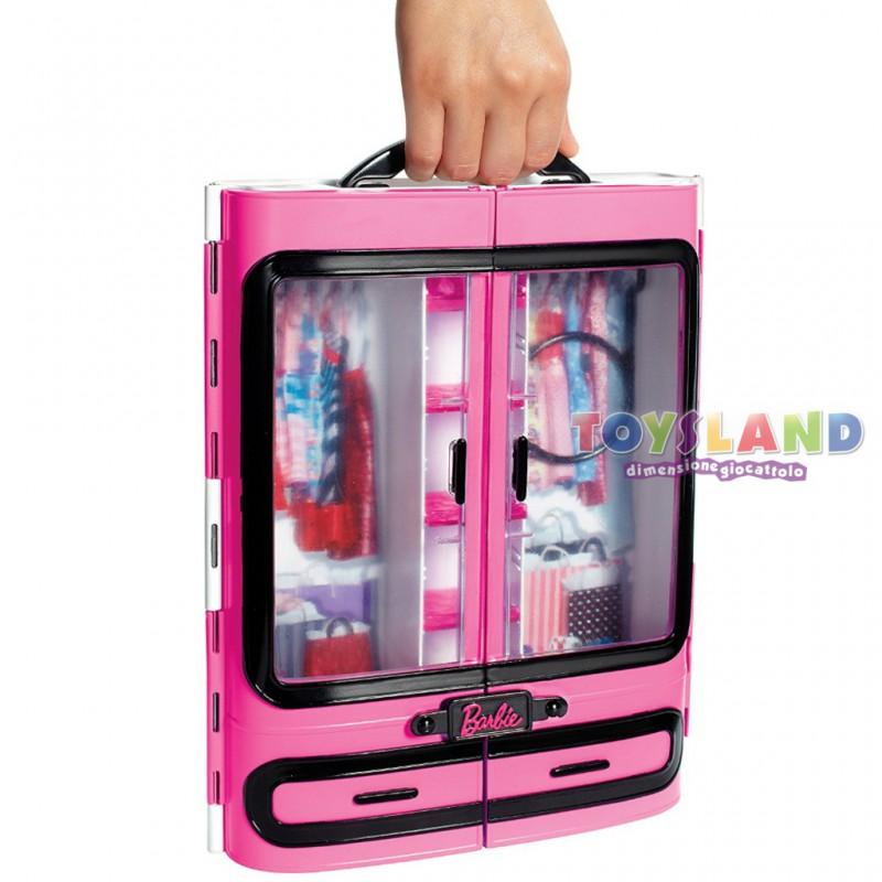 Barbie Armadio della Moda, che potrai portare sempre con te grazie