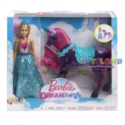 BARBIE DREAMTOPIA CON UNICORNO (FPL89)