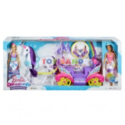 BARBIE DREAMTOPIA CON CARROZZA (FVR05)