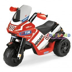 MOTO ELETTRICA TRE RUOTE 6V RIDER DESMOSEDICI (ED0918-9)
