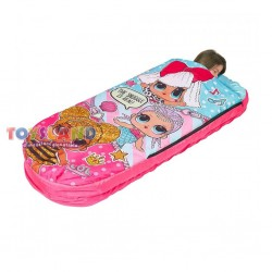 LOL READY BED 2 IN 1 SACCO A PELO CON MATERASSINO GONFIABILE (LLD2000)
