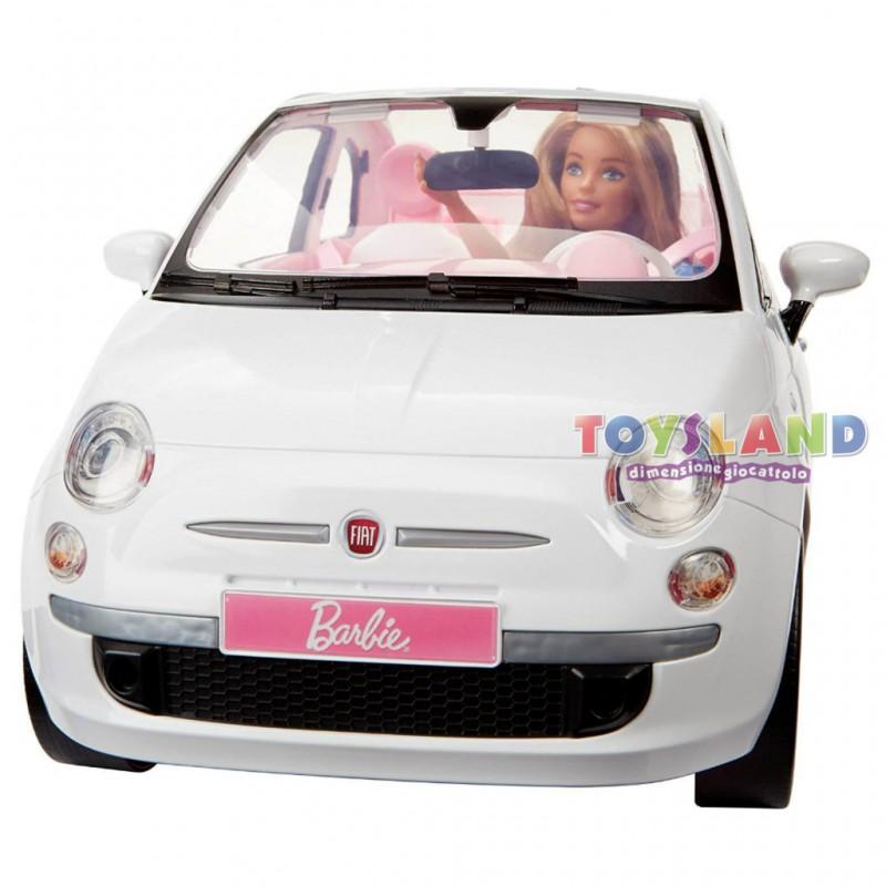 Barbie Fiat 500 E Il Playset Con L Auto Piu Famosa D Italia Nel