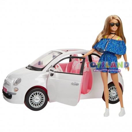 Barbie Fiat 500 Fvr07
