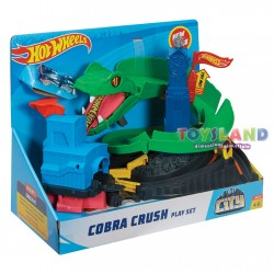 HOT WHEELS PLAYSET COBRA CRUSH (FNB20)