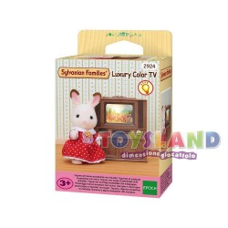 ORIGINAL SYLVANIAN FAMILIES - TV A COLORI SERIE LUXURY
