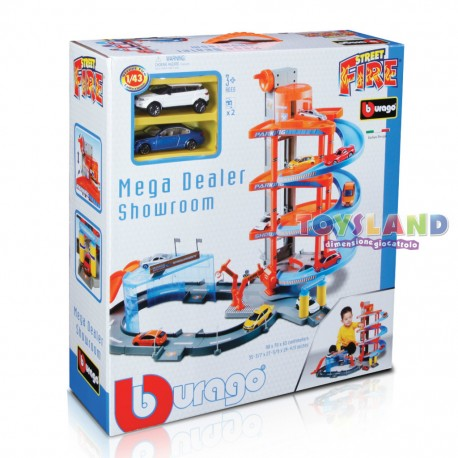 PLAYSET GARAGE RAMPA MEGA DEALER (300310)