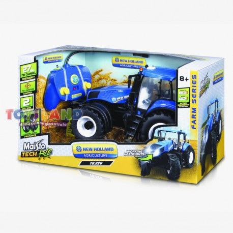 RC TRATTORE NEW HOLLAND T8 320 1:16 27MHz (82026)
