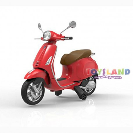 VESPA RIDE ON 12V ROSSA (503139)