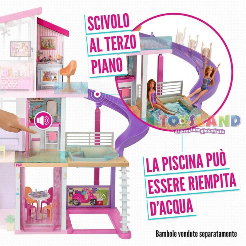 Letto A Castello Barbie.Barbie Casa Dei Sogni E Il Posto In Cui Barbie Passa