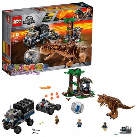 LEGO JURASSIC WORLD FUGA DAL CARNOTAURUS SULLA GIROSFERA (75929)