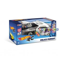 RADIOCOMANDO HOT WHEELS POLICE PURSUIT LUCI E SUONI (63505)