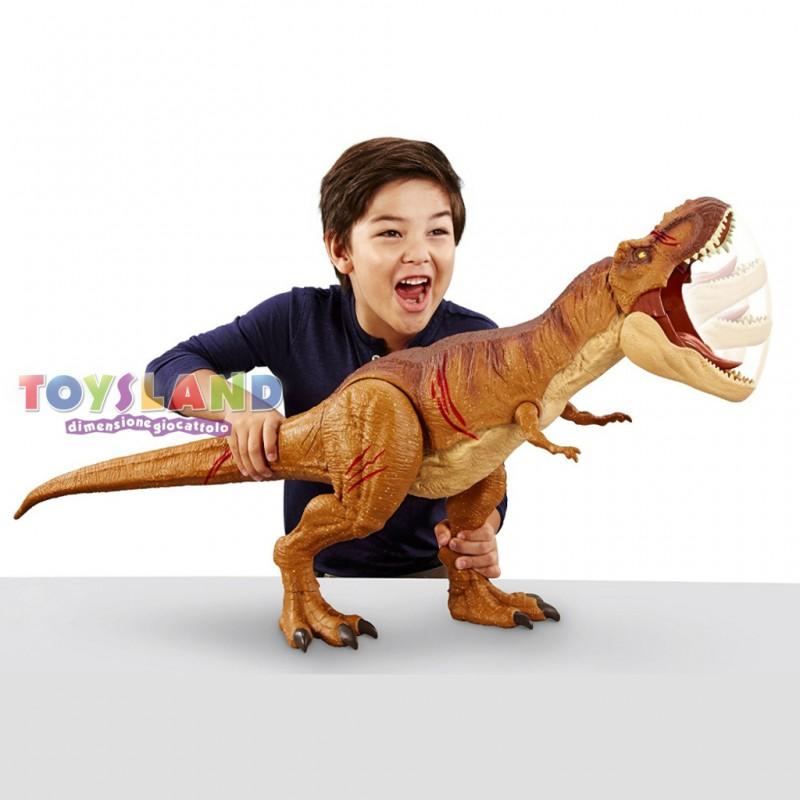 Jurassic World T-Rex Extra Large, un dinosauro dalle grandissime