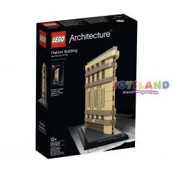 LEGO ARCHITECTURE GRATTACIELO FLATIRON BUILDING (21023)