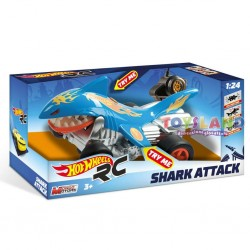 RC HOT WHEELS SHARK ATTACK RADIOCOMANDO (63504)