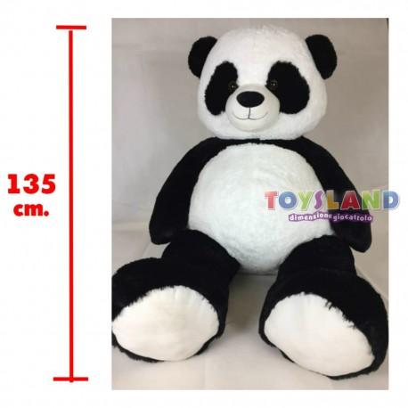 Lelly - Panda Peluche Gigante 135 cm, imponente e pronto per