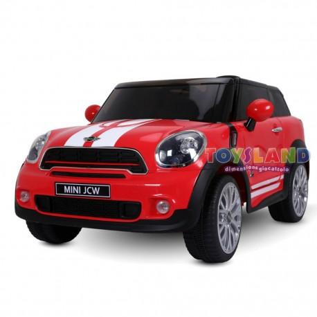 Mini Paceman Elettrica 12v Rossa Lt856 La Sua Prima Auto