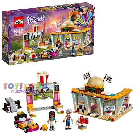 LEGO FRIENDS FAST FOOD DEL GO KART (41349)