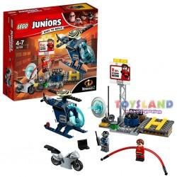 LEGO JUNIOR - INSEGUIMENTO SUL TETTO ELASTIGIRL (10759)