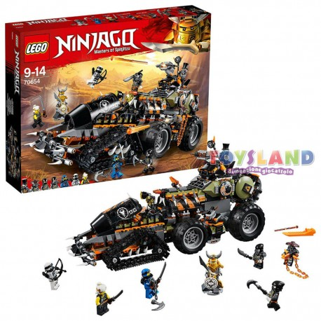 LEGO NINJAGO TURBO CINGOLATO (70654)