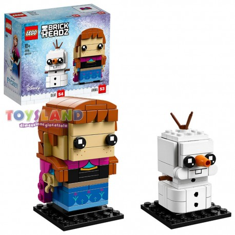 LEGO BRICKHEADZ DISNEY FROZEN ANNA E OLAF (41618)