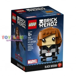 LEGO BRICKHEADZ CIVIL WAR VEDOVA NERA BLACK WIDOW (41591)