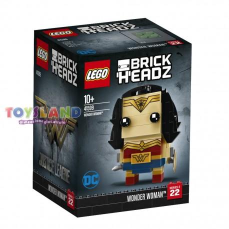 LEGO BRICKHEADZ JUSTICE LEAGUE WONDER WOMAN (41599)