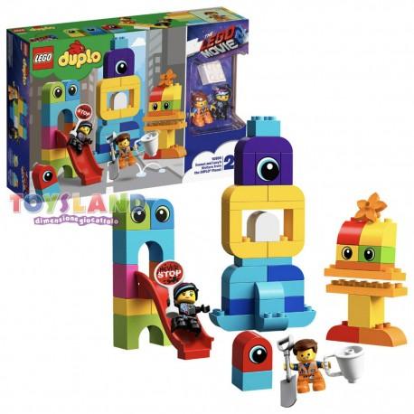 THE LEGO MOVIE 2 - I VISITATORI DAL PIANETA DUPLO DI EMMET E LUCY (10895)