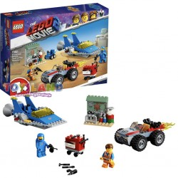 EMMET E OFFICINA AGGIUSTATUTTO THE LEGO MOVIE 2 (70821)