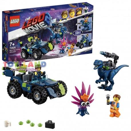 FUORISTRADA REX-TREMO THE LEGO MOVIE 2 (70826)