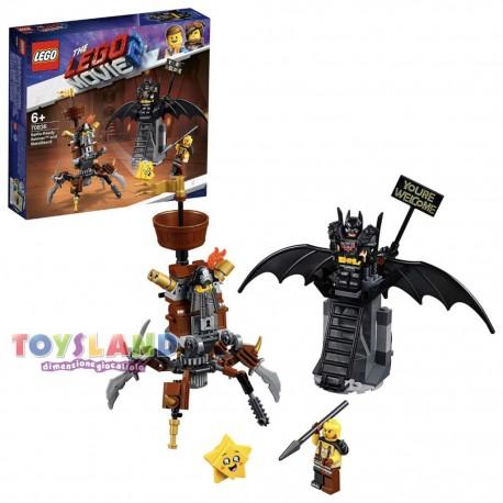 BATMAN PRONTO ALLA BATTAGLIA E BARBACCIAIO THE LEGO MOVIE 2 (70836)