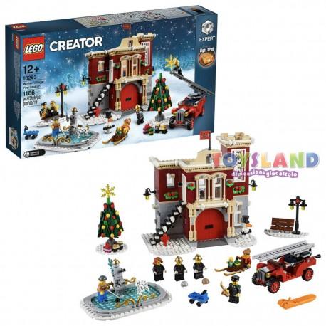 CASERMA POMPIERI INVERNALE LEGO CREATOR (10263)
