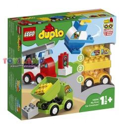 LEGO DUPLO I MIEI PRIMI VEICOLI (10886)