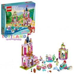 LEGO DISNEY PRINCESS I FESTEGGIAMENTI REALI DI ARIEL, AURORA E TIANA (41162)