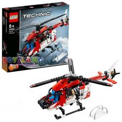 LEGO TECHNIC ELICOTTERO SALVATAGGIO 2 IN 1 (42092)