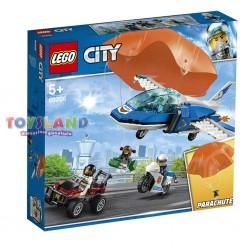 LEGO CITY ARRESTO POLIZIA AEREA CON PARACADUTE (60208)