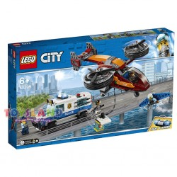 LEGO CITY POLIZIA AEREA FURTO DI DIAMANTI (60209)