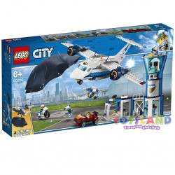LEGO CITY BASE POLIZIA DELLA AEREA (60210)