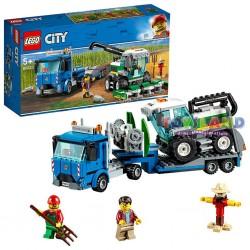 LEGO CITY TRASPORTATORE DI MIETITREBBIA (60223)