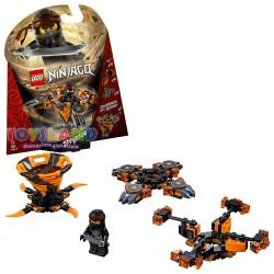 LEGO NINJAGO COLE SPINJITZU (70662)