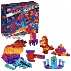 LA SCATOLA COSTRUISCI QUELLO CHE VUOI DELLA REGINA WELLO KE WUOGLIO THE LEGO MOVIE 2 (70825)