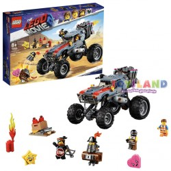 LA BUGGY FUGGI FUGGI DI EMMET E LUCY THE LEGO MOVIE 2 (70829)