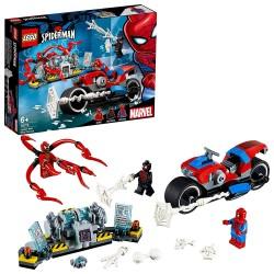 LEGO SUPER HEROES SALVATAGGIO SULLA MOTO DI SPIDERMAN (76113)